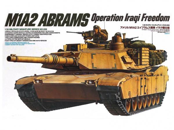Модель Американский танк M1A2 Abrams OIF (1:35)