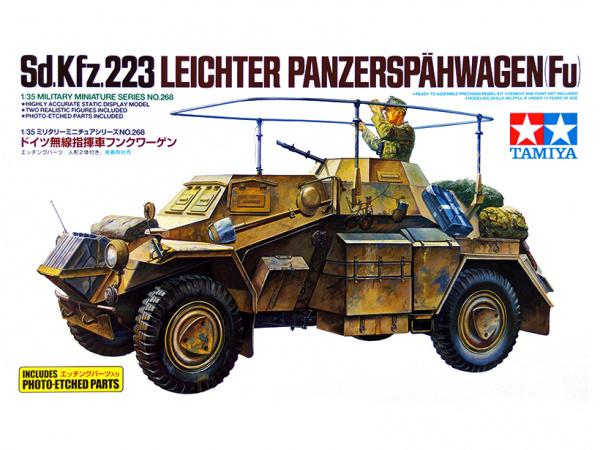 Модель Немецкий разведывательный бронеавтомобиль Sd.Kfz.223 Leichte
