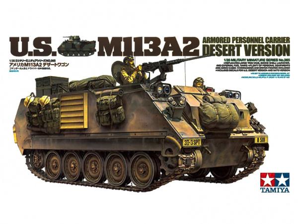 Американский бронетранспортер M113A2 с пулемётом кал. 12.7 м