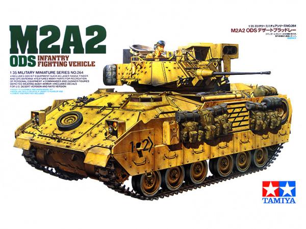 Американский бронетранспортер М2А2 «Операция Буря в пустыне»