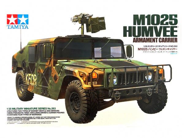 Автомобиль Хаммер с крупнокалиберным пулеметом и фигурами во