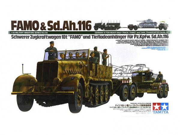 Немецкий 18-ти тонный тягач Sd.Kfz.9