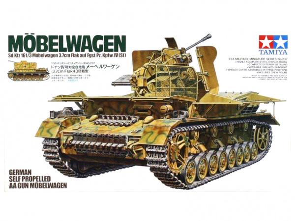 Модель Зенитная установка Mobelwagen 3.7cm Flak (1:35)