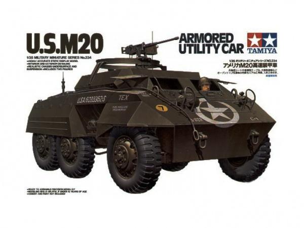 Модель Американский трехосный бронетранспортер М20 (1:35)