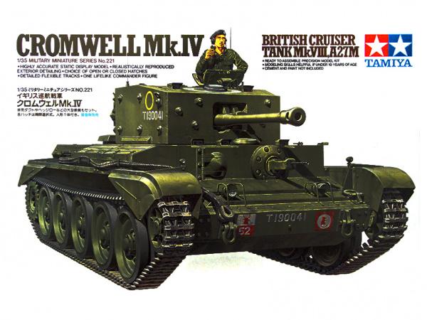 Модель Английский средний танк Mk.VIII Cromwell Кромвель Mk.IV с фи
