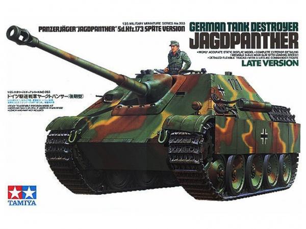 Модель Немецкое самоходное 80 мм. противотанковое орудие Jagdpanthe