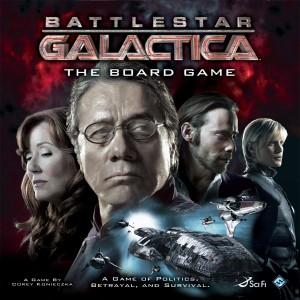 Настольная игра Battlestar Galactica Звёздный крейсер Галактика