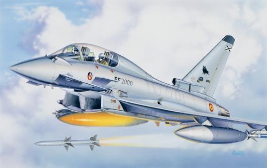 Модель Еврофайтер - Eurofighter Typhoon EF-2000B