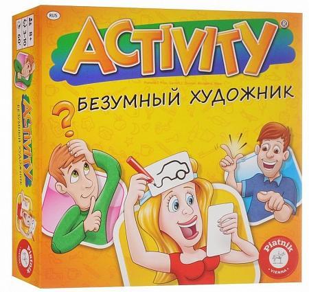 Настольная игра Activity Безумный художник 2