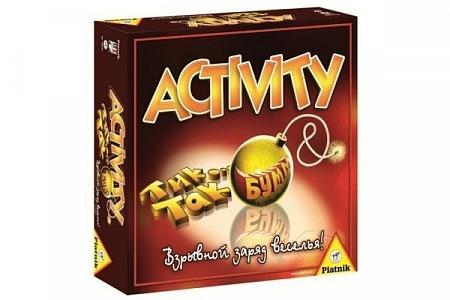 Настольная игра Activity + Тик Так Бум