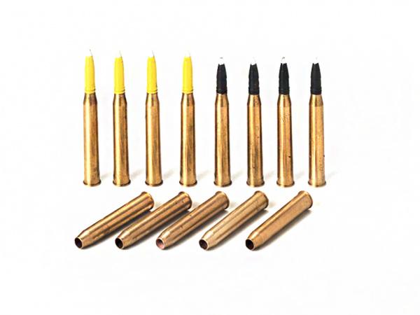 Модель Набор 88-мм. снарядов (8 шт.) и гильз (5 шт.) из бронзы для