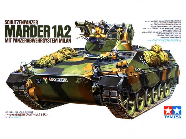 Немецкая БМП Schutzenpanzer Marder 1A2 (1:35)