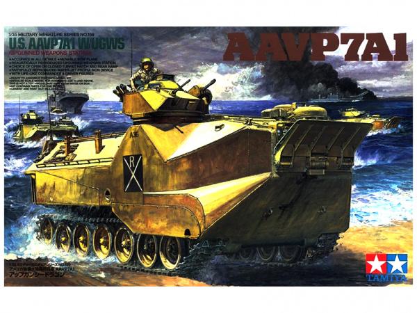 Американский бронетранспортер морской пехоты Marine AAVP7A1
