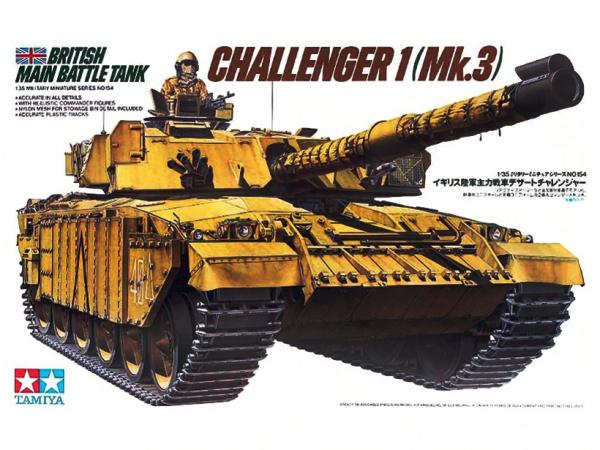 Модель Британский основной танк Челенджер Br.Challenger 1 Mk.3 (1:3