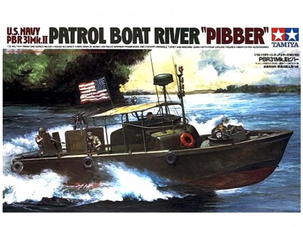Модель Американский водометный патрульный катер PBR31MkII Pibber с