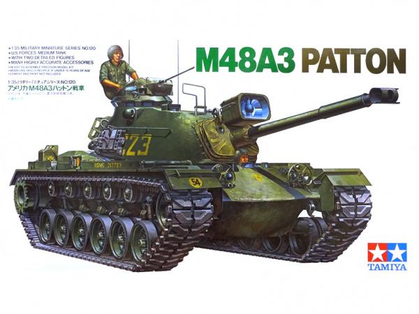 Американский танк Паттон M48A3 Patton (1:35)