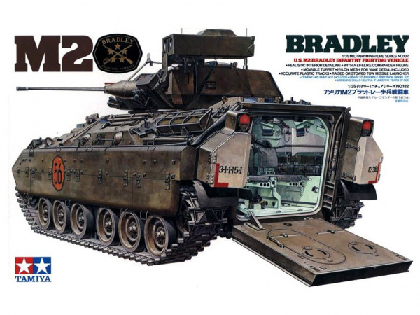 Американский бронетранспортер M2 Bradley IFV (1:35)