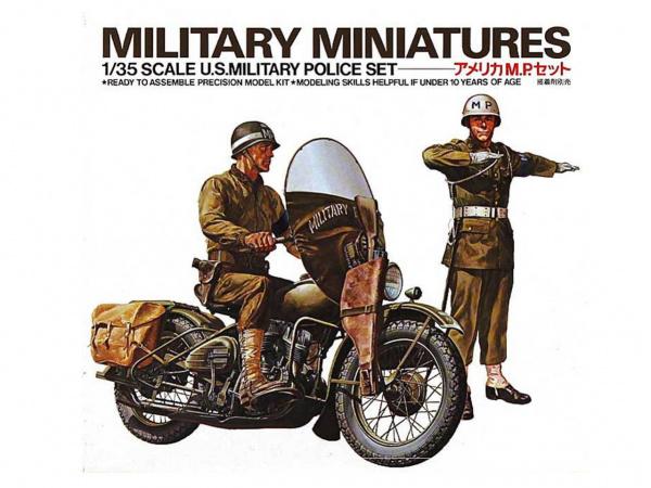Модель Американские военные полицейские (1:35)