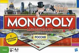 Настольная игра Монополия. Россия Monopoly