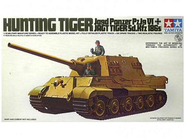 Модель Немецкий тяжёлый танк King Tiger (1:35)