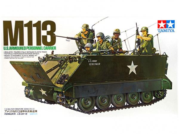 Модель Американский БТР  M113 A.P.C. (Вьетнам) (1:35)