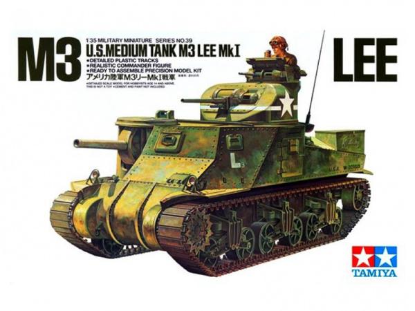 Модель U.S. M3 Tank Lee с 1 фигурой (1:35)