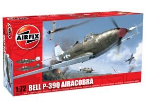 Сборная модель Белл П-39 Аэрокобра - Bell P-39Q Airacobra
