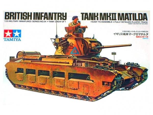 Модель Английский танк Matilda Mk II (1:35)