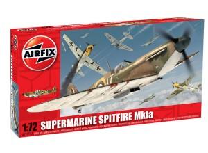 Сборная модель Супермарин Спитфайр Мк1а - Supermarine Spitfire Mk1a