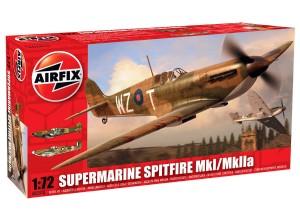 Модель Supermarine Spitfire MkI / MkkIIa
