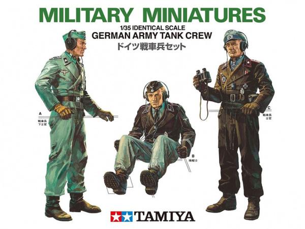 Модель Немецкие танкисты. 3 фигуры (1:35)