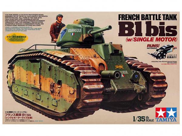 Модель Французский тяжёлый танк B1 bis (1:35)