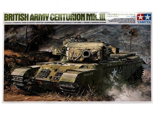 Модель Английский танк Centurion Mk.III с одной фигурой (1:35)
