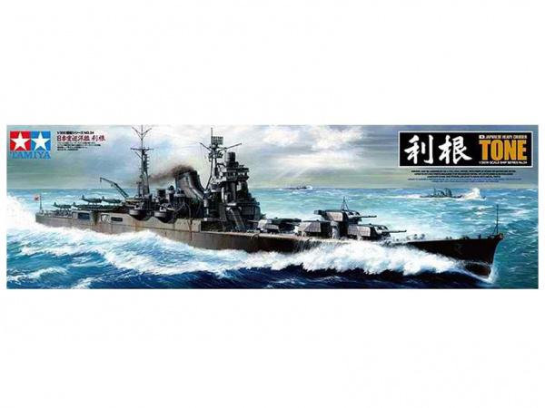 Модель Японский тяжелый крейсер Tone (1:350)