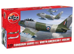Модель F-86 Сэйбр - Canadair Sabre F.4/North American F-86E(M)