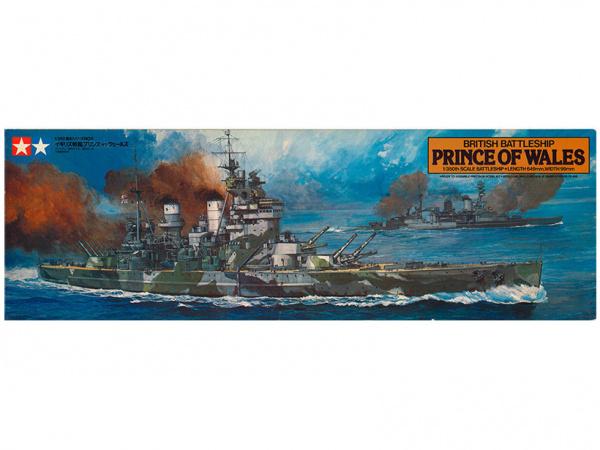 Модель Британский линкор Prince of Wales (1:350)