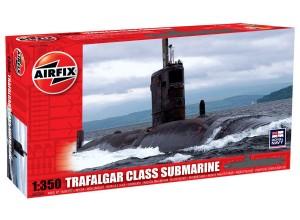 Сборная модель Подводная лодка Трафальгар -Trafalgar Class Submarine