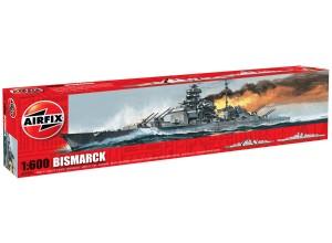 Сборная модель Бисмарк - Bismarck 1/600