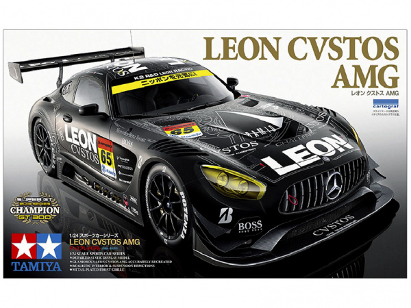 Автомобиль Mercedes LEON CVSTOS AMG (1:24)
