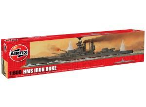 Сборная модель Айрон Дюк - Железный герцог - HMS Iron Duke 1/600