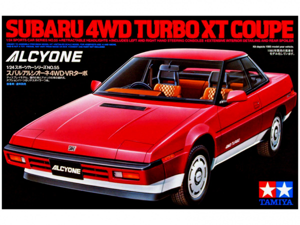 Subaru 4WD Turbo XT Coupe Alcyone (1:24)