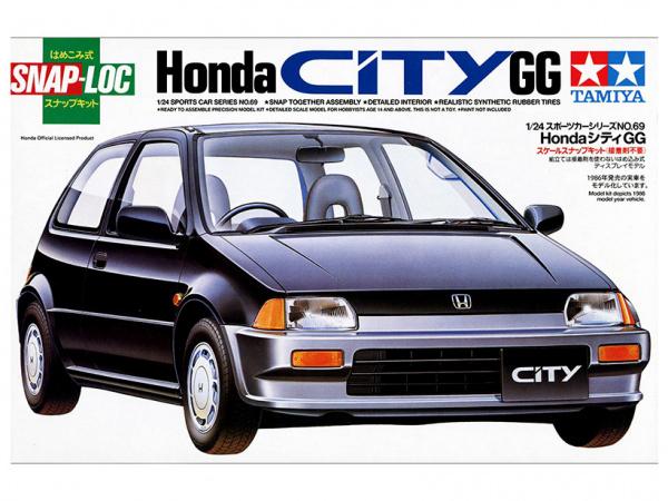 Модель Honda City GG (1:24)