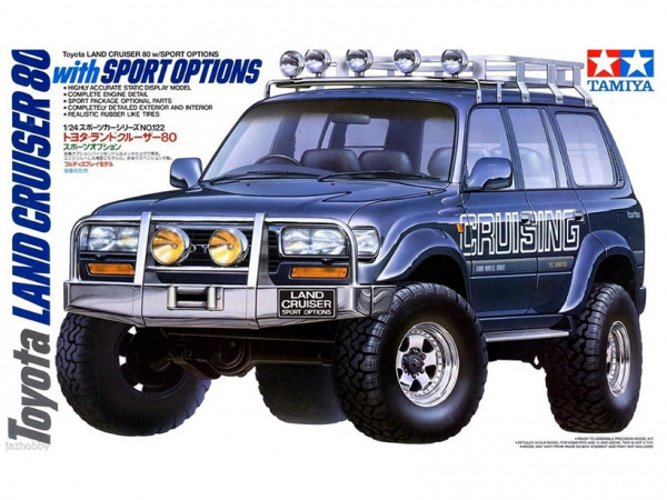 Toyota Land Cruiser 80 with Sport Options (1:24)