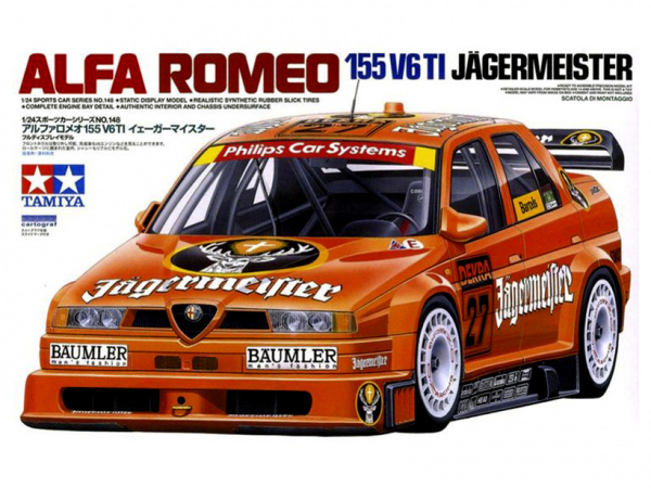Alfa Romeo 155 TI Jagermeister (1:24)