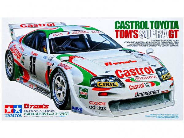 Castrol Toyota TOM`S Supra GT (1:24)