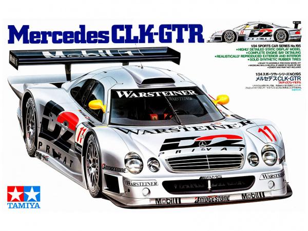 Меrcedes CLK-GTR (1:24)