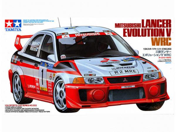 Mitsubishi Lancer Evolution V (1:24)