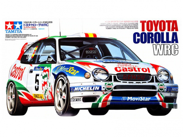 Toyota Corolla WRC (1:24)