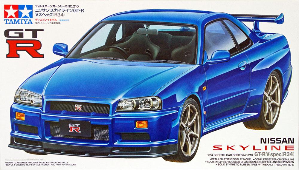 Nissan Skyline GT-R V-spec (1:24)