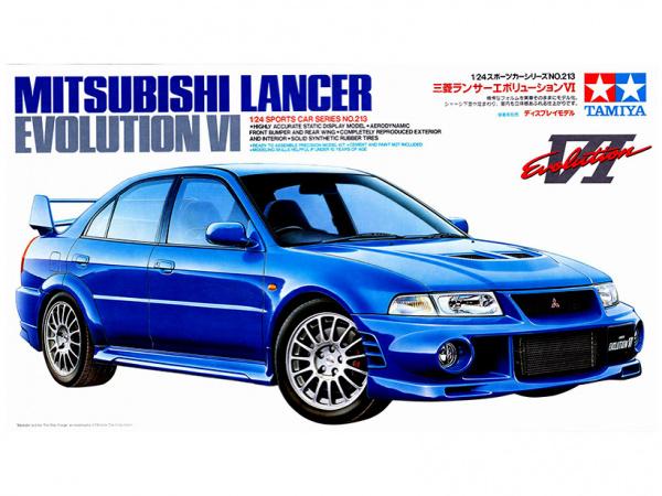Mitsubishi Lancer Evolution VI (1:24)